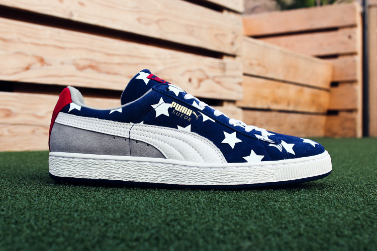 Gear up for Independence Day With the PUMA Suede