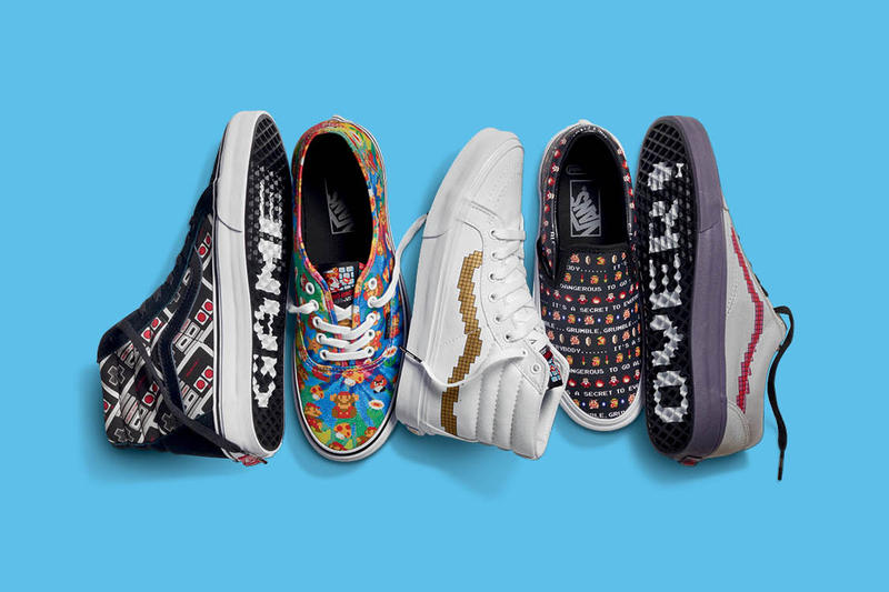 f78b4eef7e Check out the Full Nintendo x Vans Footwear   Apparel Collection