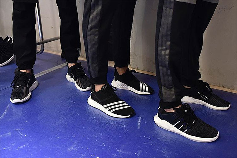 White Mountaineering NMD R2 and Trail