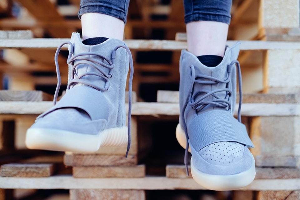 "72fea7770 adidas Yeezy 750 Boost ""Light Grey Gum"" Lookbook"