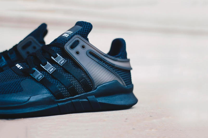 """A Closer Look at the adidas EQT Support ADV """"Triple Black"""""""