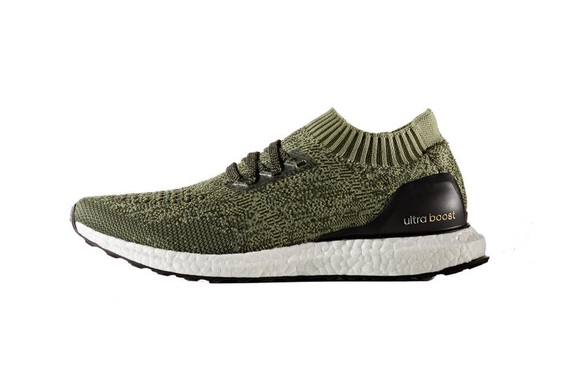f0f1507608b3e adidas Ultra Boost Uncaged Olive Navy and Sea Blue