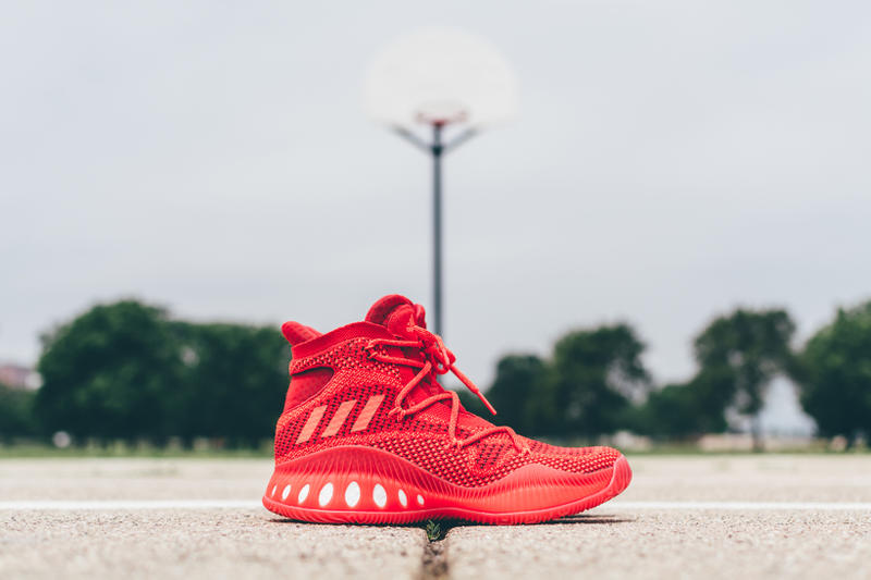 detailing c9089 ab939 adidas Looks Towards Basketball s Future With New Crazy Explosive Silhouette