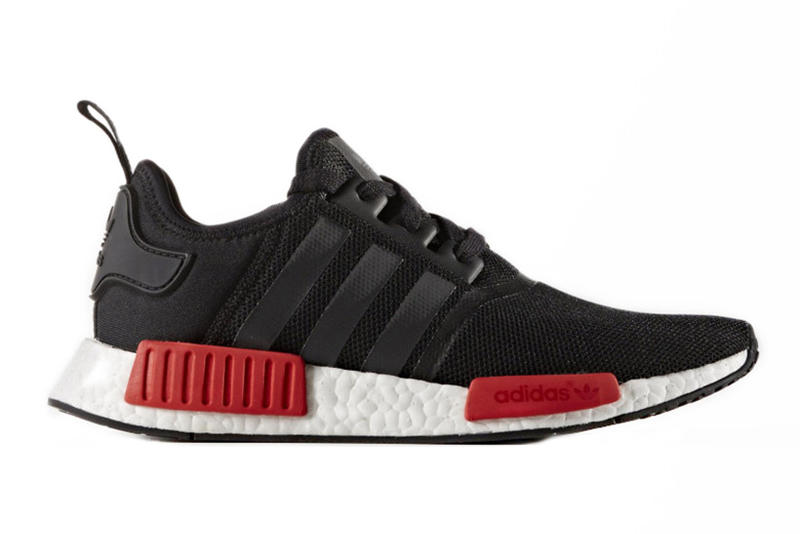 aaabc356c3541 adidas s NMD Silhouette to Release in Wildly Popular Black Red Color Combo