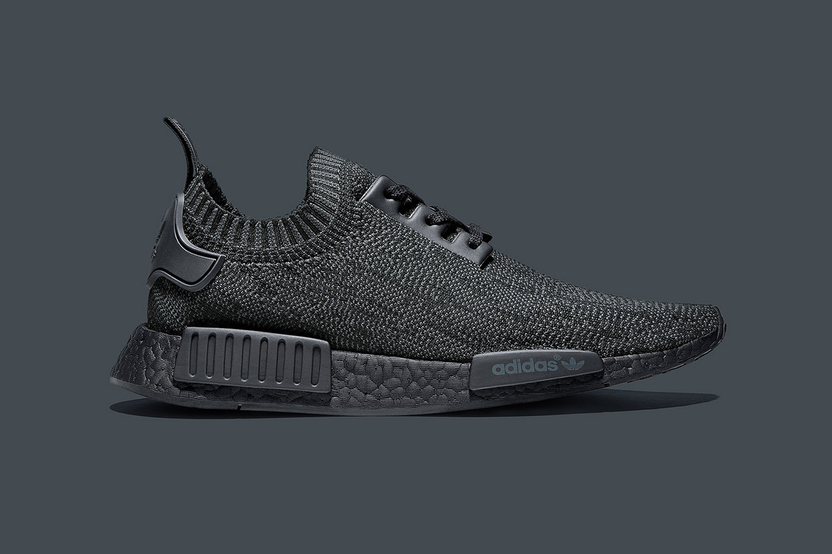 Adidas Originals Nmd R1 Pk Pitch Black Friends And Family Hypebeast
