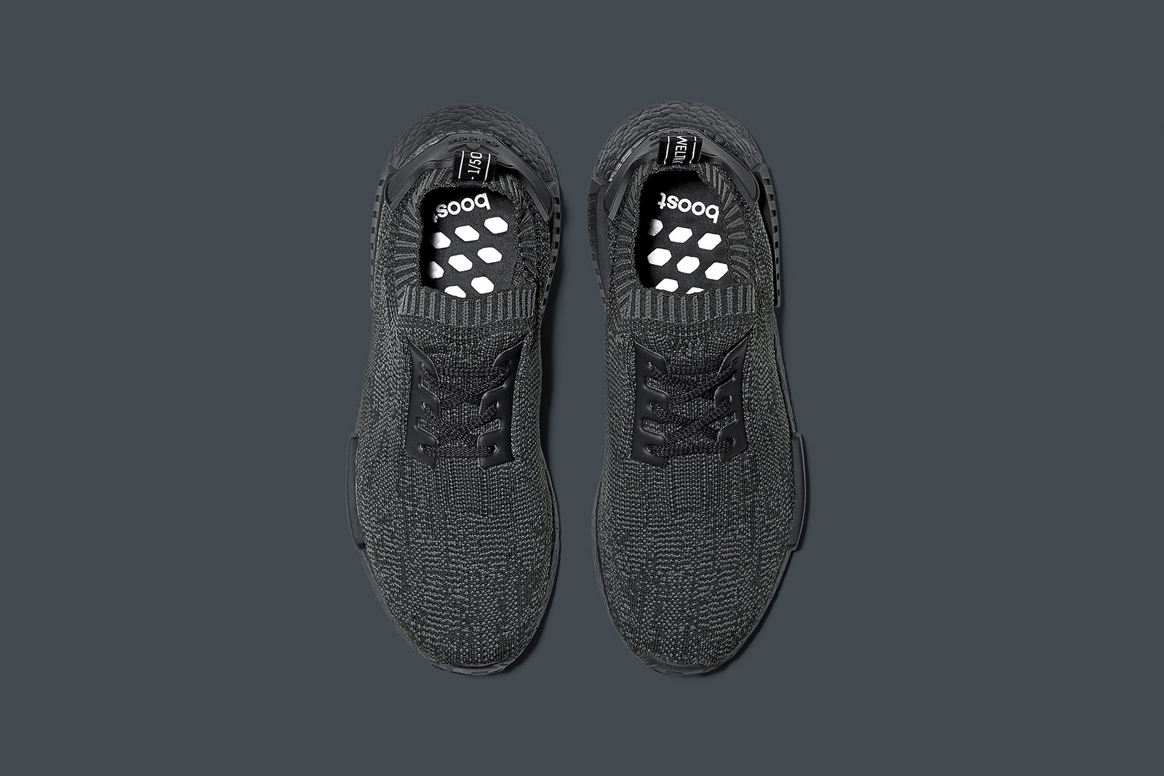 nmd adidas pitch black