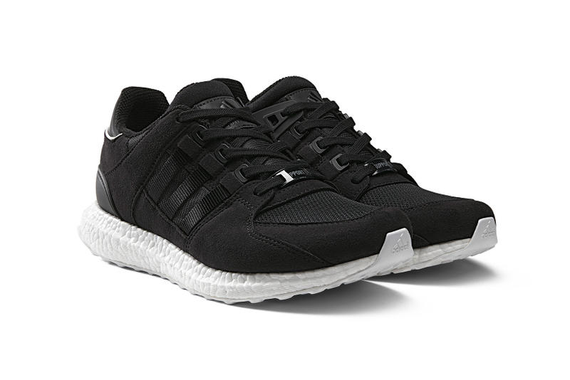 huge discount a176b 68d10 adidas EQT Support 9316 BOOST in Black and White  HYPEBEAST