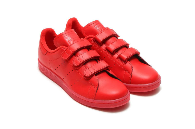 3e115ae1227fe adidas Originals Goes All the Way Red With New Stan Smith CF. A creative  take on a cult classic. 1 of 5. 2 of 5. 3 of 5