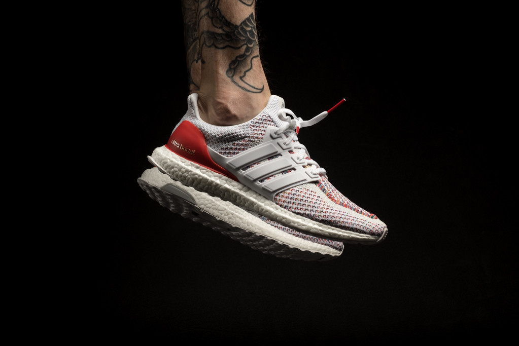 adidas Ultra BOOST Multicolor White and