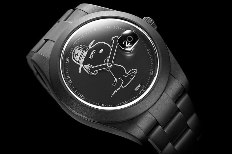 bamford watch department x dsm snoopy watch