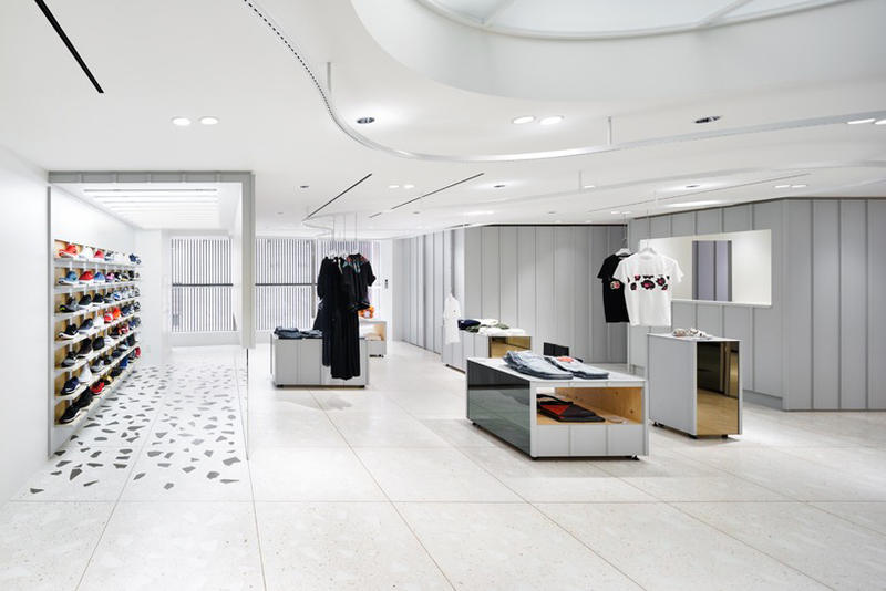 Beams, Torafu, shop layout