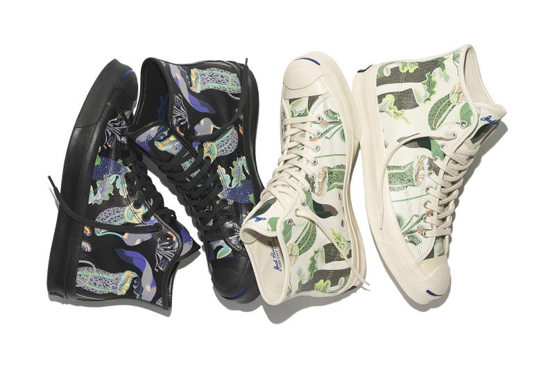 09408e3cd64e ... Converse Decorates the Jack Purcell in Carnivorous Botanicals ...