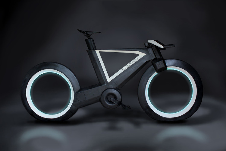9465681ddf This Bicycle Looks Like It Came Straight out of  TRON