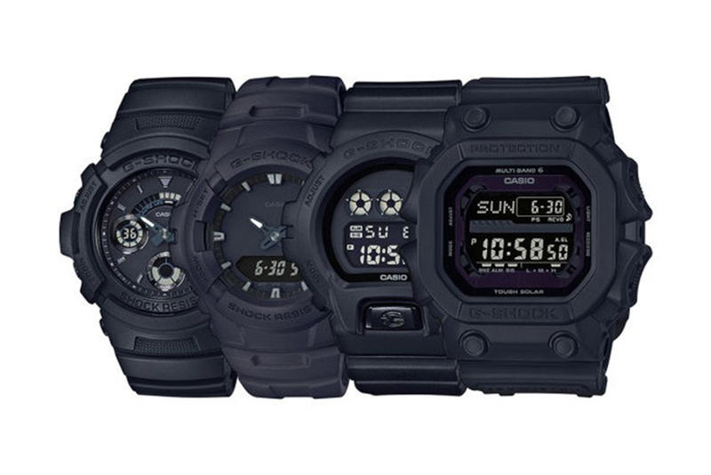 G-SHOCK Japan Launches a New Line of Deadly Matte Black Watches