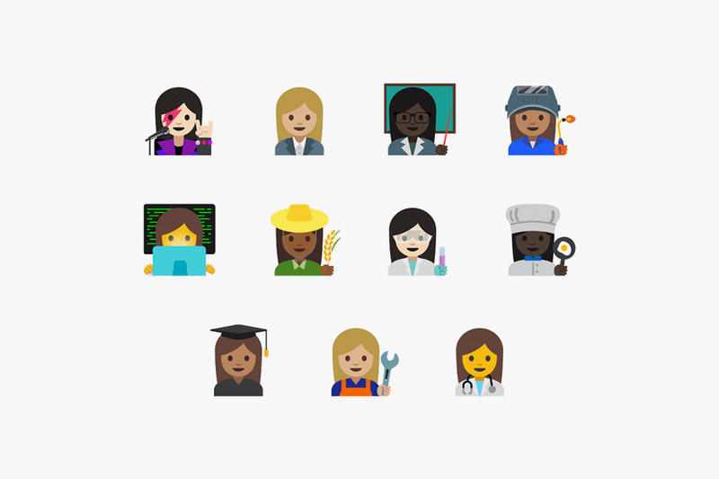 Google and Emoji Committee Roll out New Female Professions for Gender Equality
