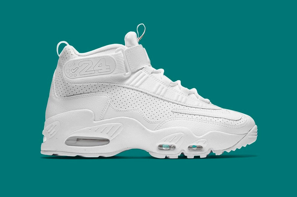 best service 4f7d6 380bf Nike Air Griffey Max 1 Triple White | HYPEBEAST