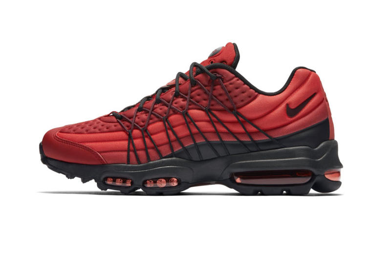 more photos 42b4b 0a0ca Nike Air Max 95 Ultra SE in Gym Red Sneakers | HYPEBEAST