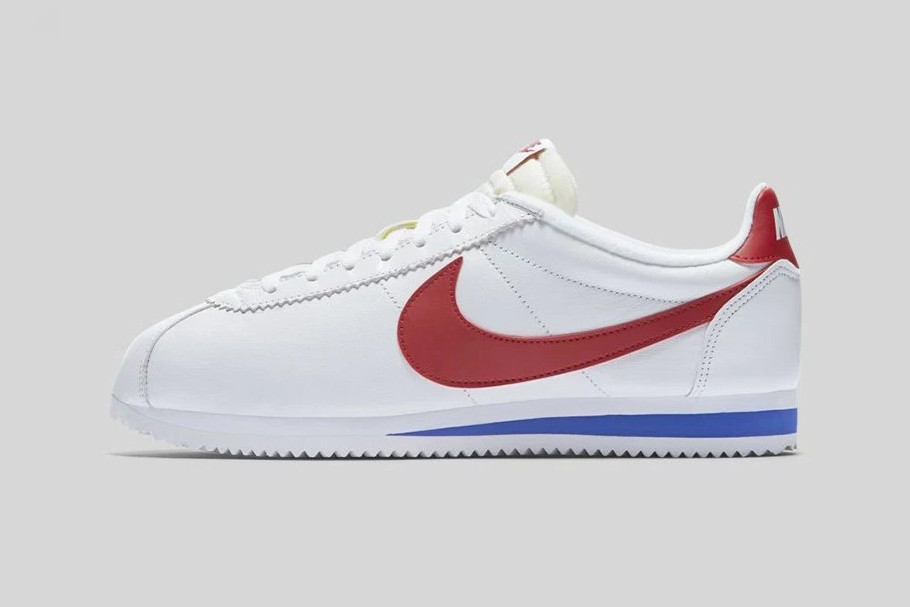 The Nike Classic Cortez OG Returns With the Forrest Gump Look. The White  Varsity Royal-Varsity Red ... a314f677f