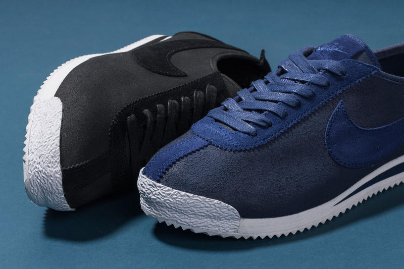 brand new 71db5 d4abc ... Nike Cortez 72 QS in Black and Loyal Blue Sneakers HYPEBEAST ...