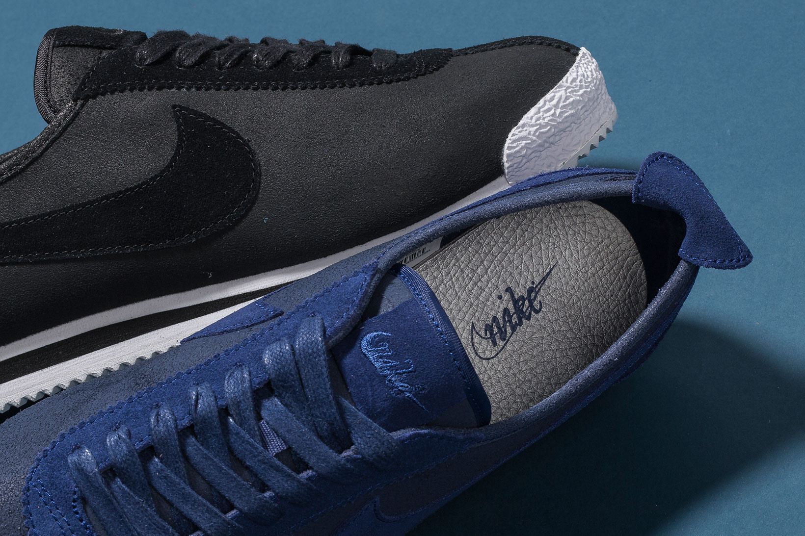 Nike Cortez 72 QS in Black and Loyal