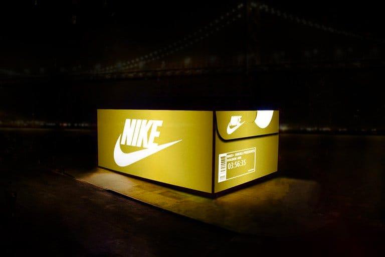 Nike SNKRS Box Pops Up in San Francisco