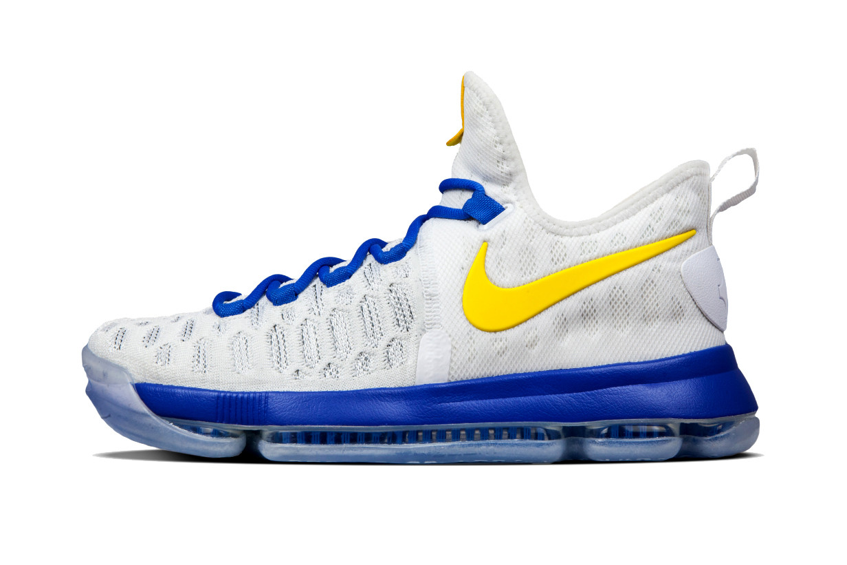 Nike KD 9 Golden State Warriors Colors