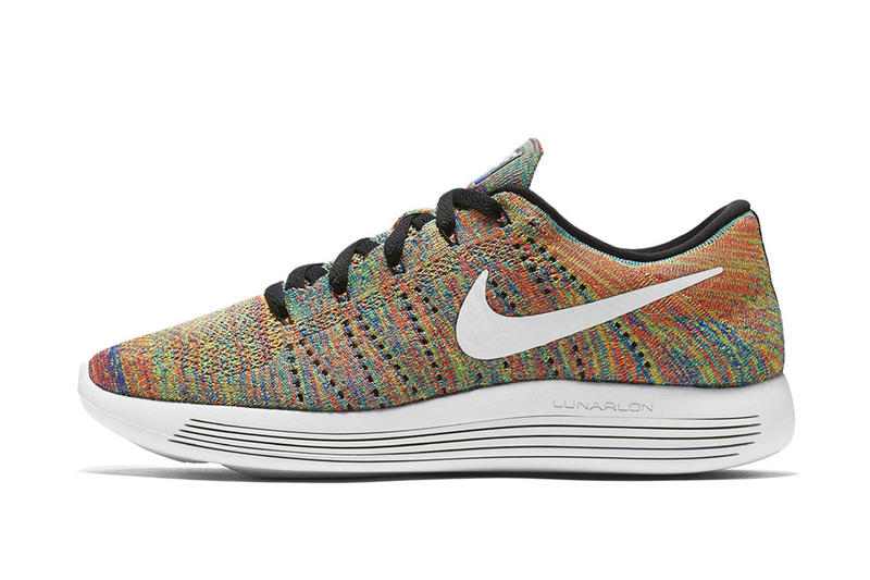d7b811038ac Nike s LunarEpic Flyknit Low Gets a Multicolored Makeover. Back at it again  with multicolor.
