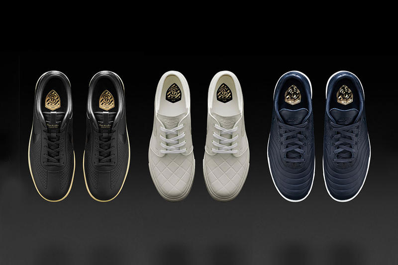 Nike SB Gives Three Beloved Silhouettes a Football-Inspired Makeover