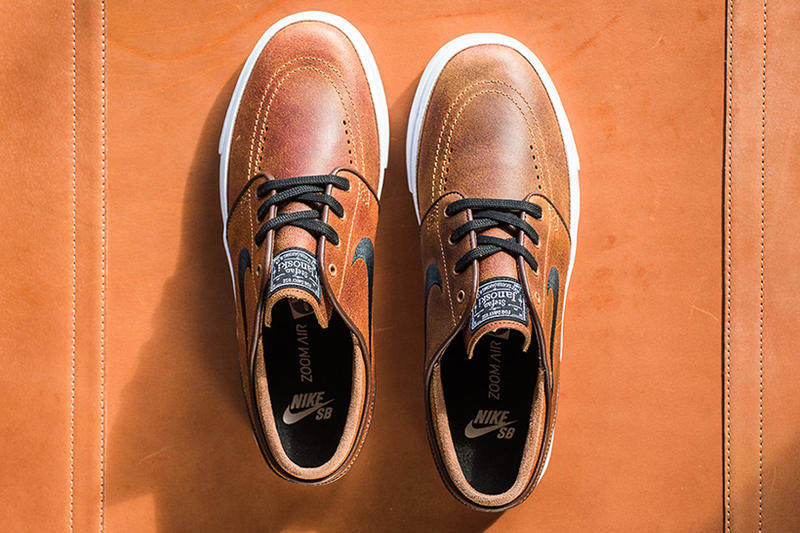 0ed117fa7f62 Nike SB Zoom Janoski Gets Dressed in a Distressed Leather Upper