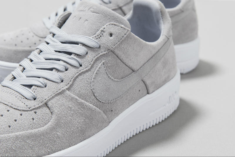 Azul Exquisito Mm  Nike Air Force 1 Ultraforce Wolfgrey Colorway | HYPEBEAST
