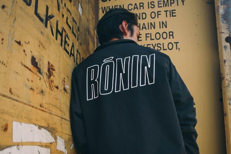 ronin summer 2016 lookbook