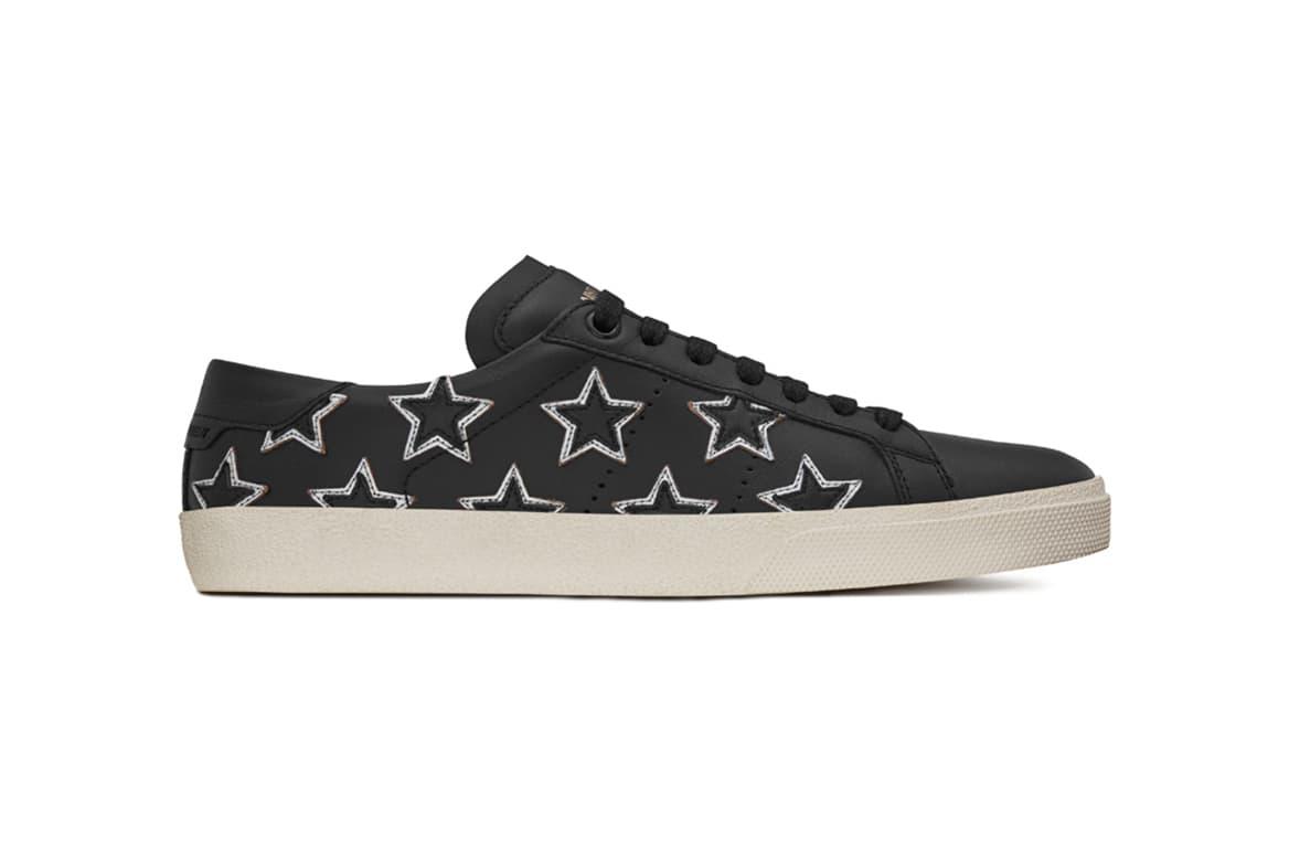 Saint Laurent Releases the Low-Profile California Sneaker