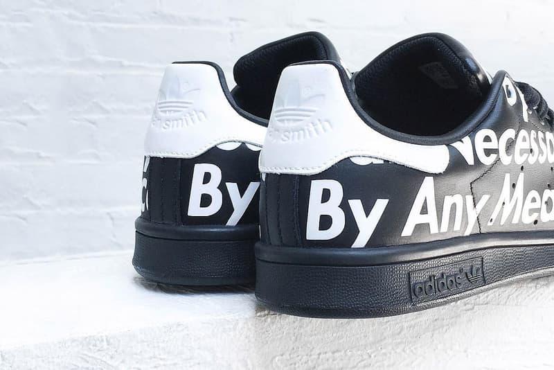 reputable site 83326 cb0b2 Sydney Kay Custom Supreme x adidas Stan Smith