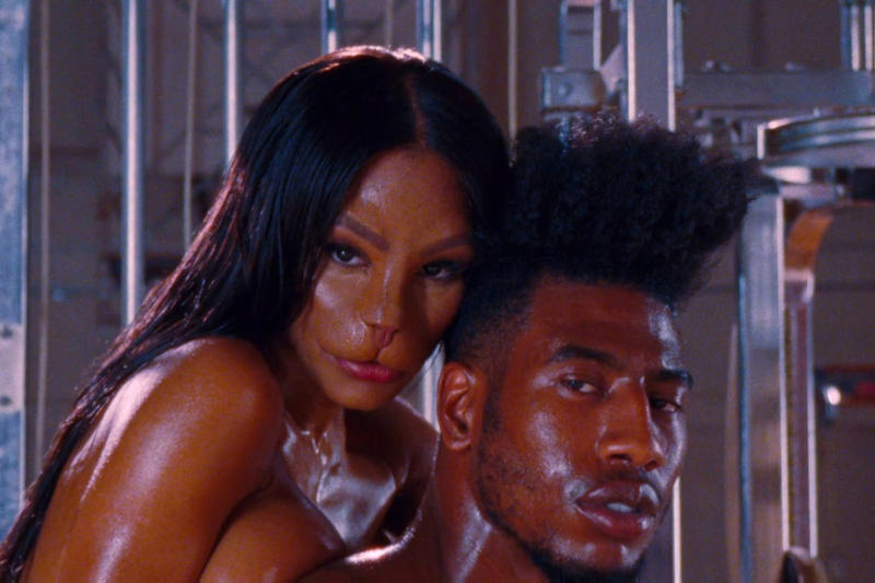 Kanye West Fade Music Video Teyana Taylor Iman Shumpert