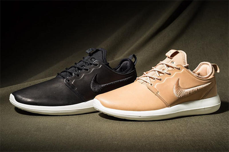 brand new 8fe3c ff00c NikeLab Moves Onto Leather for the Latest Roshe Two Revamp. A premium take  on one of the most comfortable models.