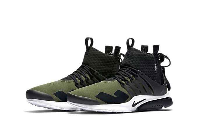 ACRONYM x Nike Air Presto Sneaker Olive