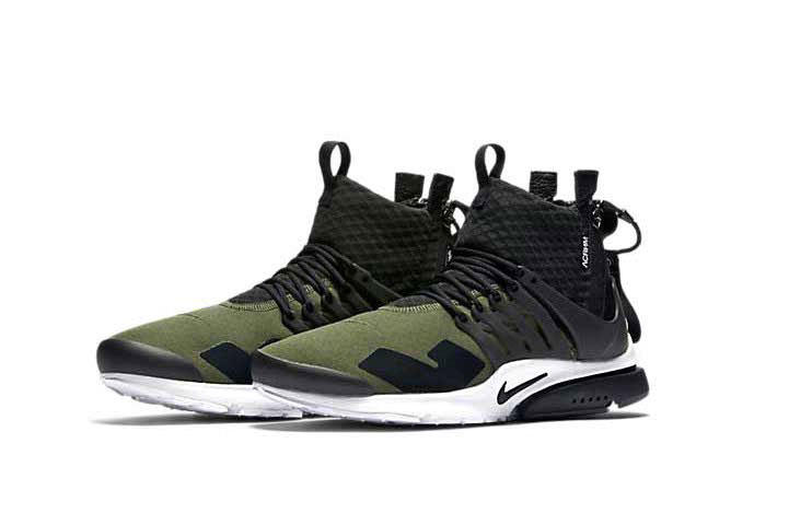 03b3d52271bc ACRONYM x Nike Air Presto Sneaker Olive