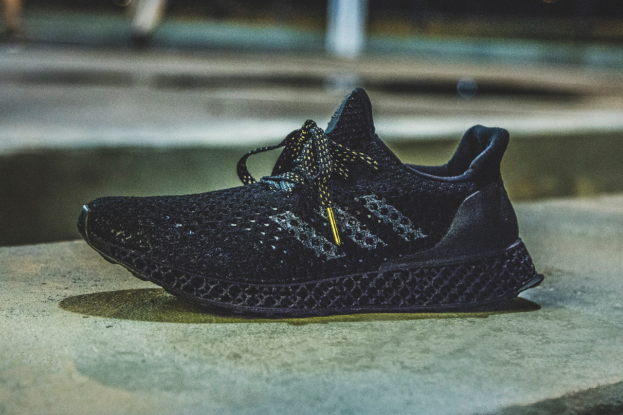 adidas' 3D Printed Shoes For Its
