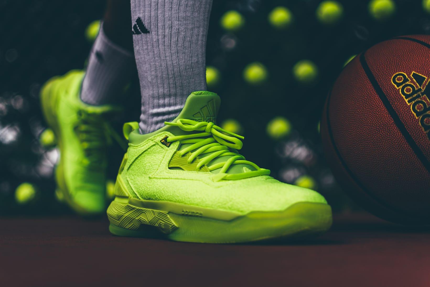 adidas D Lillard 2 Tennis Ball   HYPEBEAST