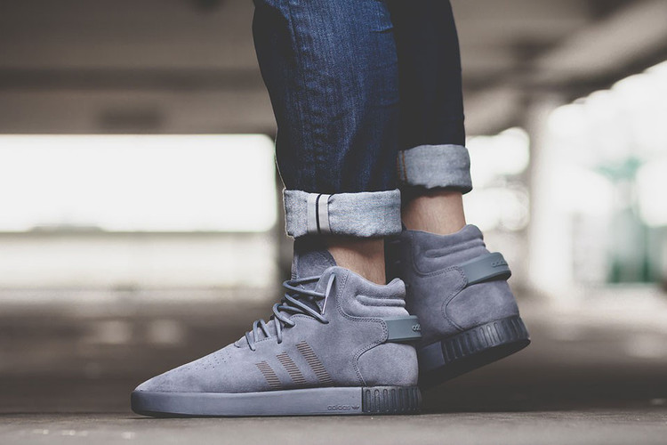meet cd752 adc56 adidas Swathes the Latest Tubular Invader in All-Grey