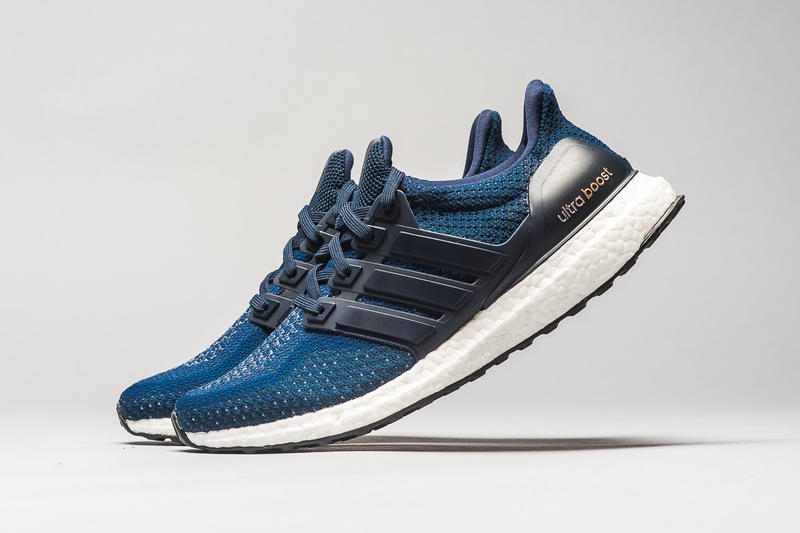 adidas Ultra Boost Navy Blue Gold