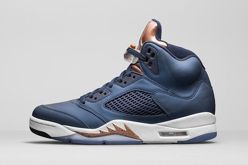 "The Air Jordan 5 Returns in a ""Bronze"" Colorway"