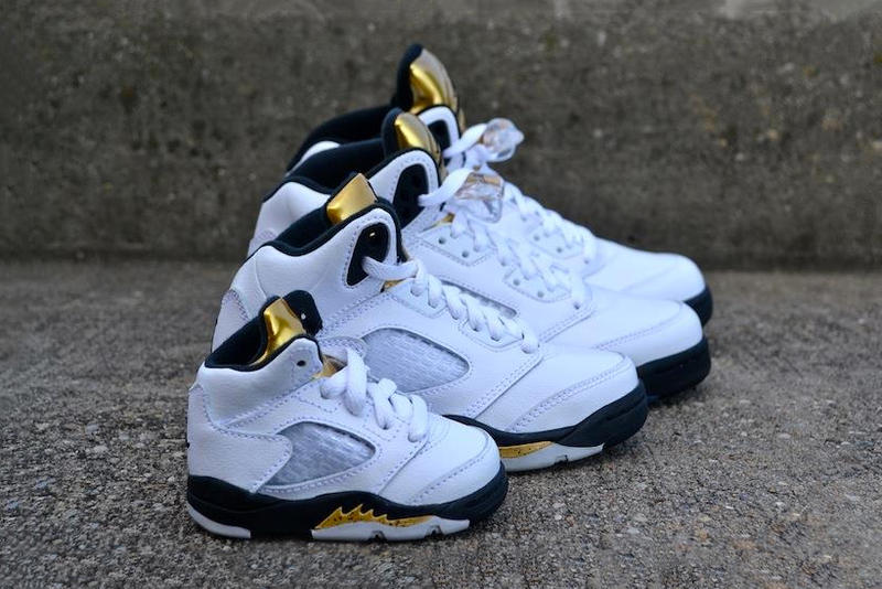 "big sale 325a3 feb85 The Nike Air Jordan 5 ""Gold"" Is Now Available for the Whole ..."