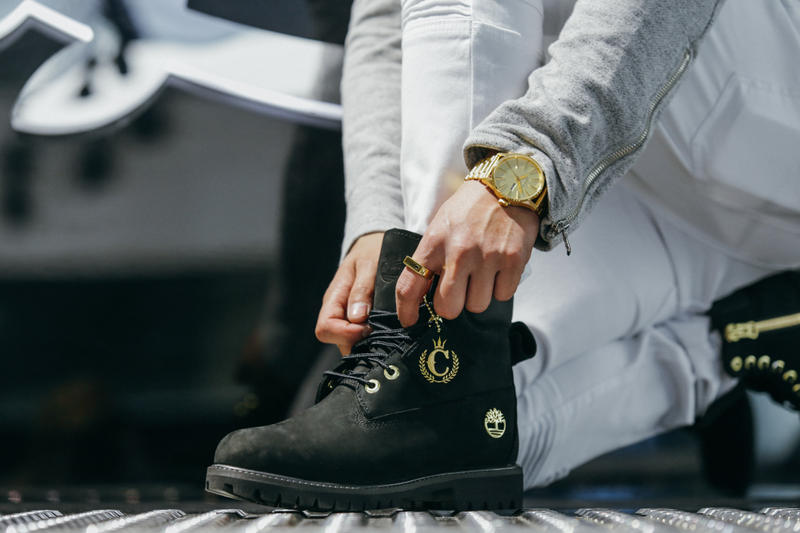 99700e59a19 Timberland Culture Kings Black and Gold Street Lux