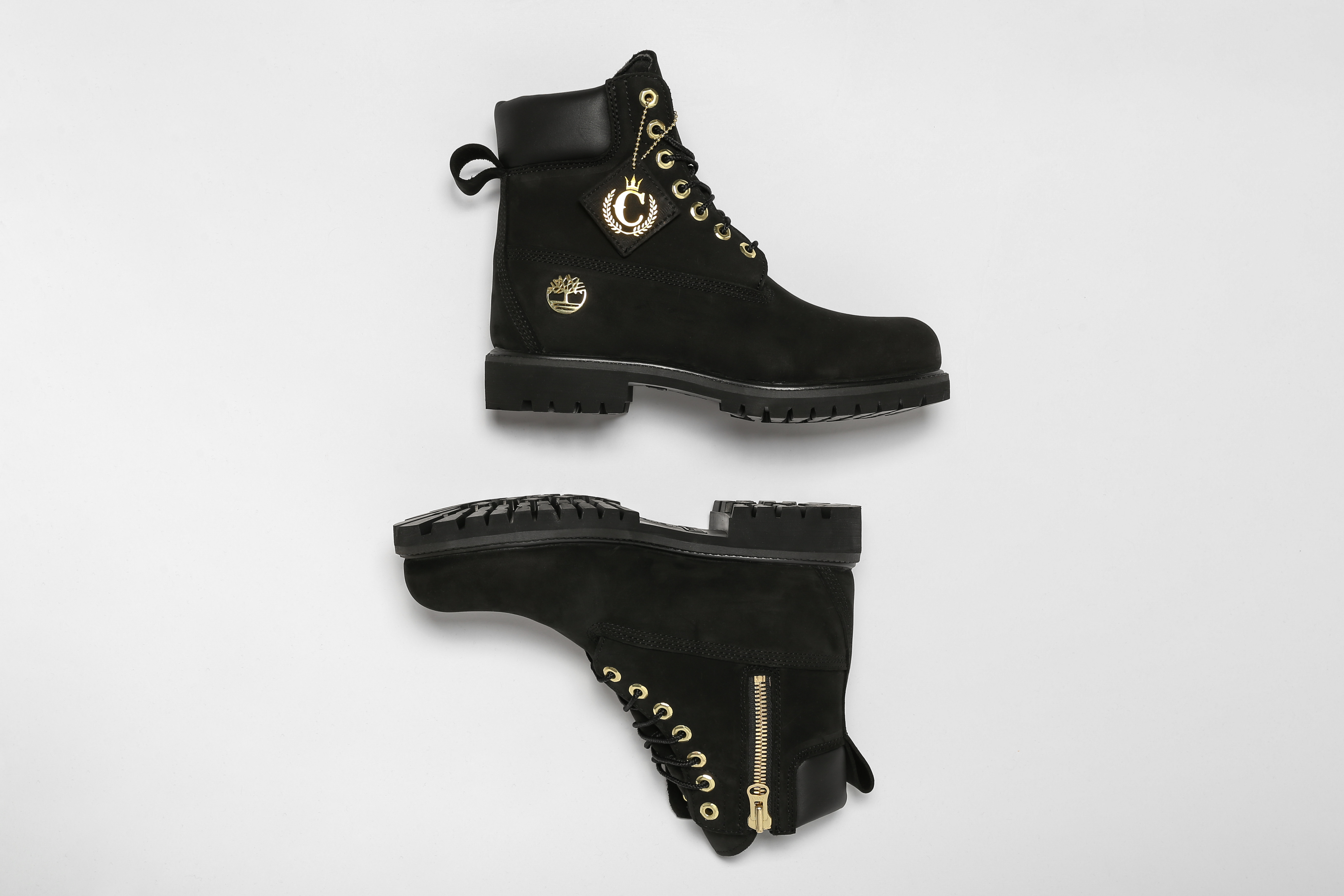 Timberland Culture Kings Black and Gold