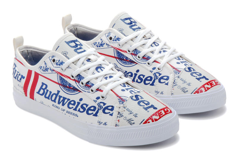 Budweiser x ALIFE x Greats' Wilson Sneaker, beer, canvas, logo, red, blue, america, classic