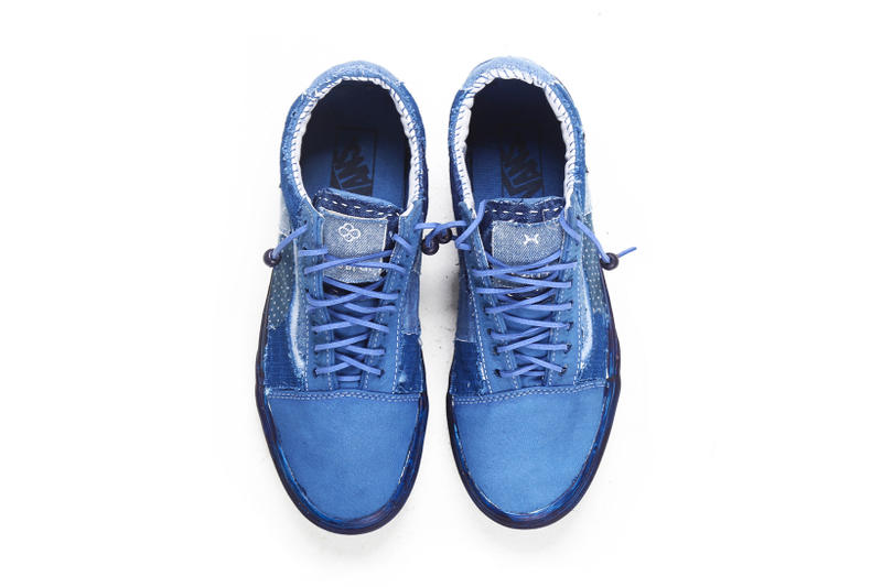 C2H4 Vans Old Skool and Authentic Re Blue Project  3764eede9