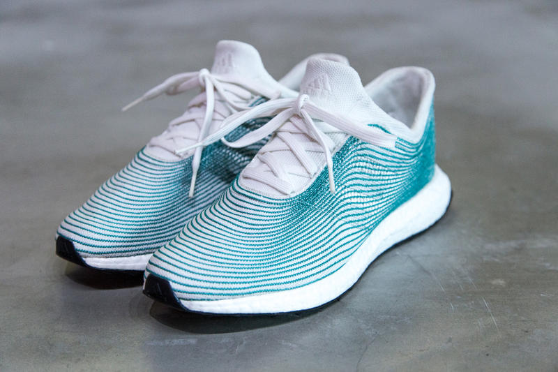 Closer Look at adidas Parley Sustainable Shoe