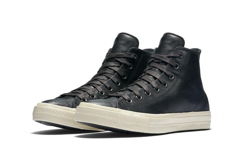 0aca6d14ea9b John Varvatos Taps Motor City for Latest Chuck Taylor All Star II. Coated  leather