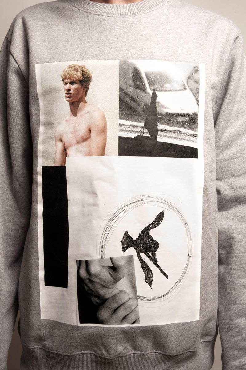 Dust Magazine Dust Capsule Wearable Pages Sweatshirts heather grey print Peter De Potter